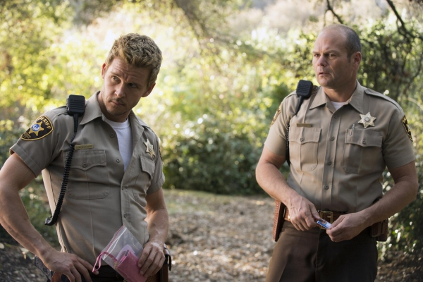 Ryan Kwanten and Chris Bauer